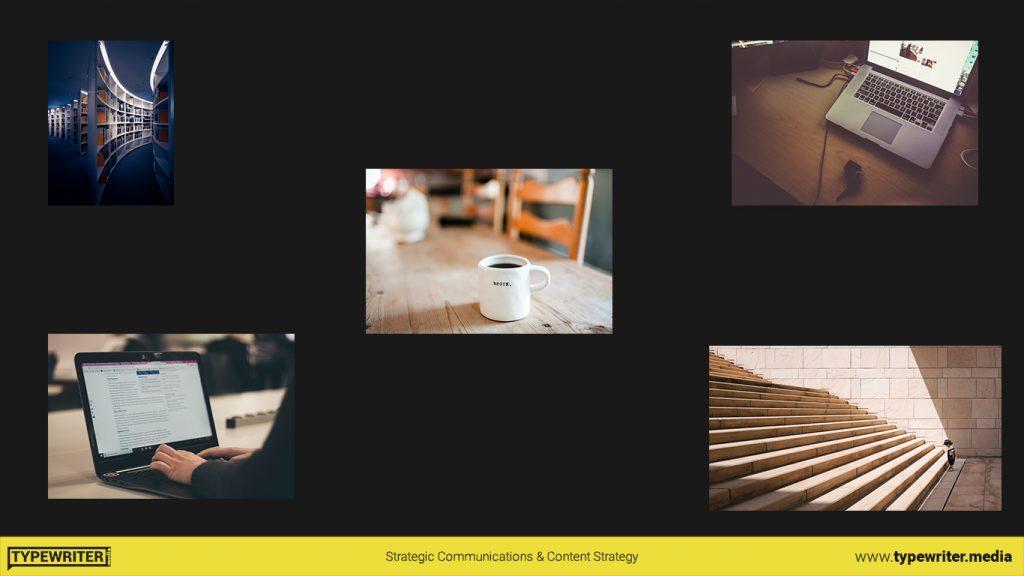 multiple random images in a presentation