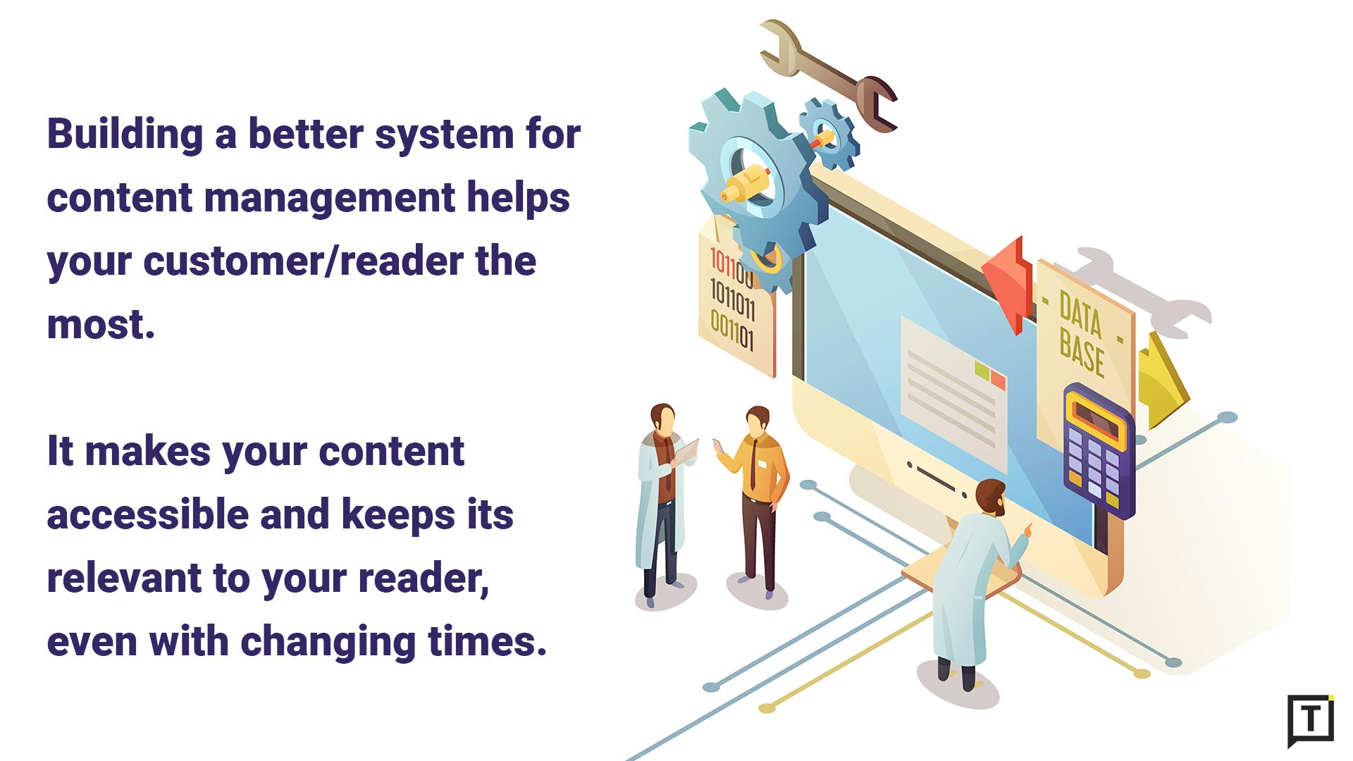 Better content management