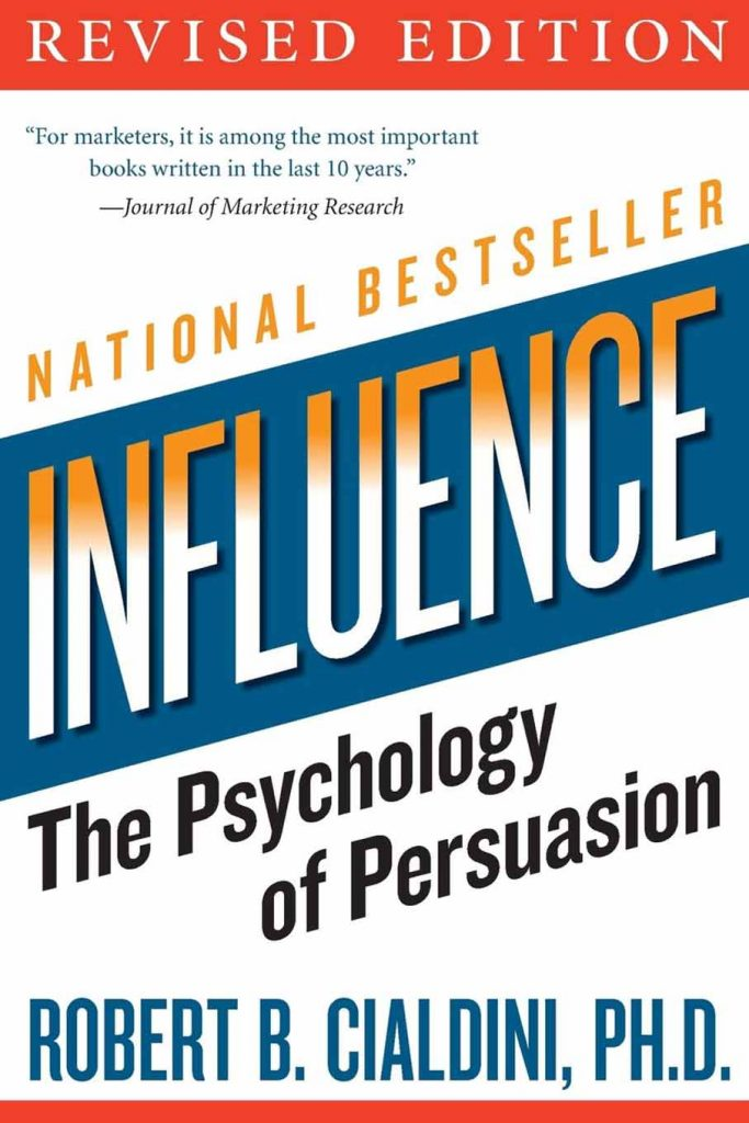 Influence The Psychology of Persuasion book cover