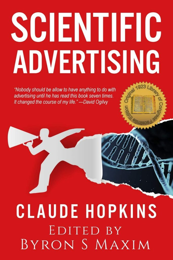 Scientific Advertising by Claude Hopkins book cover
