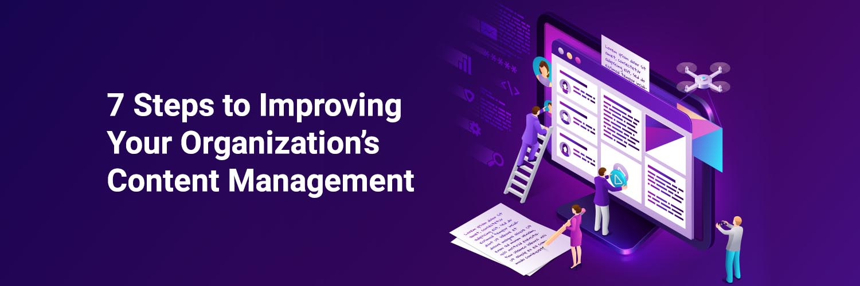 Improving content management